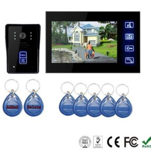 7-tft-lcd-rfid-id-waterproof-color-video-door-phone-with-touch-key
